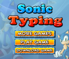Sonic Typing Game