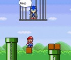 Mario Saves Sonic Game