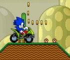 Sonic ATV on Mario Land Game